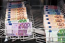Pinigų plovimas per Rusiją ir Latviją: areštuota 50 mln. eurų vertės turto