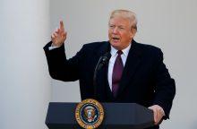 """Izraelio ministrė: D. Trumpo taikos planas – tik """"laiko švaistymas"""""""