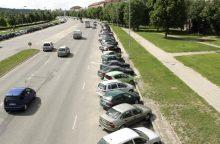 Karaliaus Mindaugo prospekte laukia permainos – už parkavimą teks mokėti?