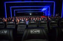 Kaune atidaryta geriausia kino salė šalyje
