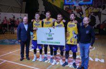Tarptautiniame 3x3 turnyre Garliavoje – ir rajono mėnesio žmogus apdovanojimai