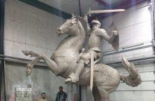 Paaiškėjo, kiek pinigų Kaunas skiria Vyčio skulptūrai