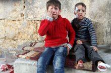 Sukilėliai ragina paskelbti Alepo paliaubas