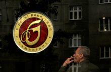 Čekijoje bus uždrausta rūkyti kavinėse?