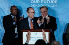 JAV demokratų vedliu išsirinktas T. Perezas