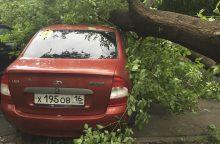 Maskvoje siautęs uraganas nusinešė daugiausiai gyvybių per šimtmetį <span style=color:red;>(atnaujinta)</span>