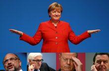 A. Merkel partija švenčia pergalę parlamento rinkimuose