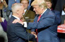 Administraciją formuojantis D. Trumpas ypač palankus generolams