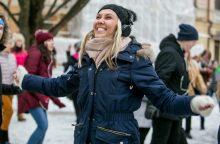 Žiemą pasitinkantis Kaunas kviečia prabilti šokio ritmu