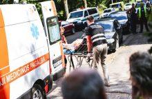 Kaišiadorių rajone rasta moteris sužalota galva