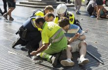 Per dvi atakas Ispanijoje žuvo 14 žmonių, dar 100 sužeista