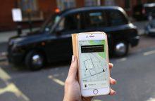 """Britai nenori atsisakyti """"Uber"""""""