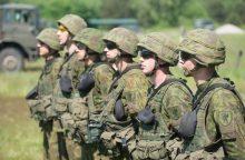 Į atsargą išleistiems kariams – daugiau galimybių įsidarbinti