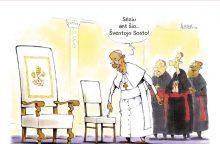 Rinkimai Vatikane – gera tema komiksui