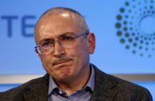 M. Chodorkovskis: man bloga nuo V. Putino