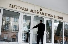 Aukščiausiojo Teismo teisėjas V. Aidukas raginamas trauktis iš pareigų