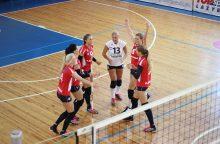 Lietuvos tinklininkės sužibėjo Baltijos čempionate