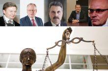 Teismų korupcijos byla: prašoma suimti 18 įtariamųjų