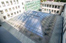 Iššūkis: kai stogas ir grindys stikliniai