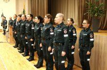 Prisiekė policijos mokyklos kursantai: laukia atsakinga ir svarbi užduotis