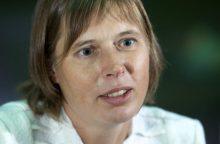 Oficialiai iškelta vienintelė kandidatė į Estijos prezidento postą