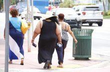 JAV ir Meksikos gyventojai – labiausiai nutukę pasaulyje