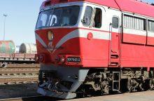 Traukinys Mažeikiuose mirtinai partrenkė paauglį