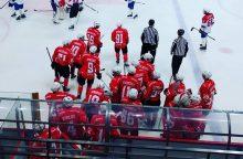 """""""Energijos"""" ledo ritulininkai Baltarusijos aukščiausioje lygoje iškovojo pergalę"""