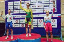 Treko dviratininkai iš Maskvos parsivežė tris medalius