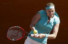 Paaiškėjo šešios moterų teniso turnyro Kinijoje ketvirtfinalio dalyvės