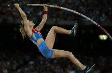 Trims Rusijos atletams leista dalyvauti tarptautinėse varžybose
