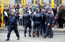 Per antiimigrantų protestą Briuselyje – neramumai