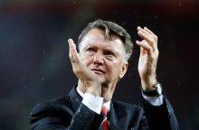"""""""Manchester United"""" patvirtino apie vyr. trenerio atleidimą"""