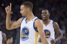 """Prieš NBA sezoną geriausiai pasirodė """"Golden State Warriors"""" komanda"""