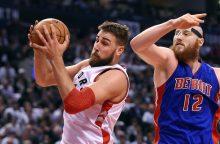 Žvėriškas J. Valančiūno pasirodymas NBA sezono starte