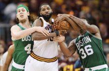"NBA Rytų konferencijos finale – pirma ""Celtics"" pergalė"