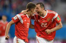 Rusijoje norima uždrausti kritikuoti futbolo rinktinę