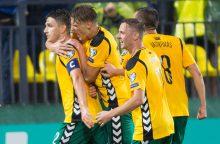 Toliau žemyn: FIFA reitinge Lietuvos rinktinė nukrito dar trimis pozicijomis