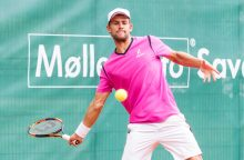 Tenisininkas L. Grigelis Italijoje nepateko į dvejetų varžybų pusfinalį