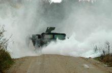 Vaikų laukia NATO karių parengti išbandymai