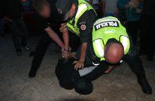 Palangoje nuo pareigūnų buvo pasprukęs sulaikytasis