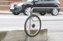 Vagys Palangoje paliko tik dviračio rėmą
