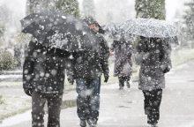 Orai: stiprus vėjas atpūs žiemą – gausime porciją sniego