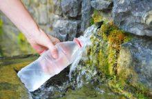Šaltinių vanduo kelia grėsmę?