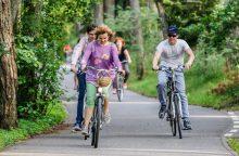 Prie daugiabučių – dviračių saugyklos