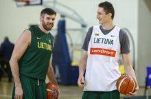 Kaip atrodys naujosios krepšinio rinktinės rotacija?