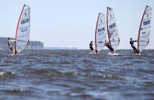 Olimpinėse jachtų klasėse lietuviai lenkė varžovus