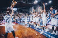 Europos jaunimo krepšinio čempionais tapo Graikijos krepšininkai
