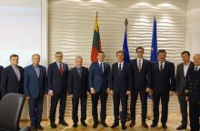 V. Sinkevičius: uosto plėtra privalo išlikti tarp valstybės prioritetų