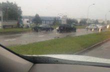 Kaltas lietus? Per avarijas Kaune nukentėjo keli žmonės